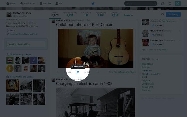 Buffer Chrome Extension