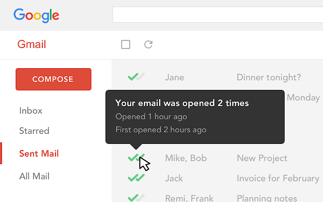 Email Tracking for Gmail - Mailtrack Chrome Extension
