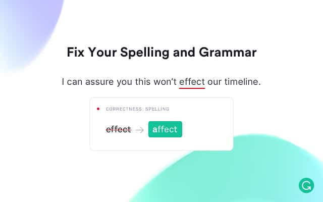 Grammarly for Chrome Extension
