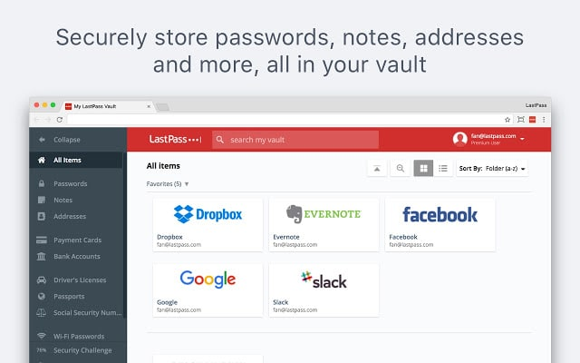 LastPass - Free Password Manager Chrome Extension
