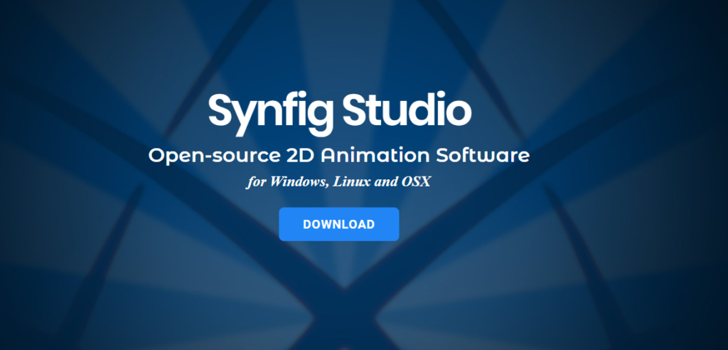 Synfig Studio Open Source 2d Animation Software