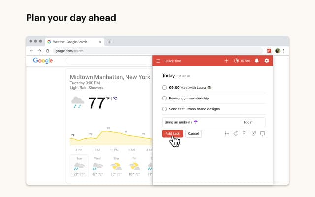 Todoist for Chrome Extension
